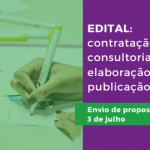 Termo de referência: contratação de consultoria para elaboração de publicação